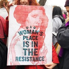 Star Wars Rebel poster Woman's Place is in the Resistance by Hayley Gilmore, donated for people to use to protest Protest Kunst, Protest Art, Protest Posters, Political Posters, Political Satire, Movie Posters, Princesa Leia, Star Wars Film, Feminist Art