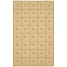 Square Knot Rug in Corkboard