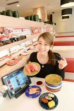 Sushi go around  #kyotaru  #kamata  #tokyo #japan #japankuru #sushibar  #sashimi #sushi  #japanesefood #washoku #travel #trip