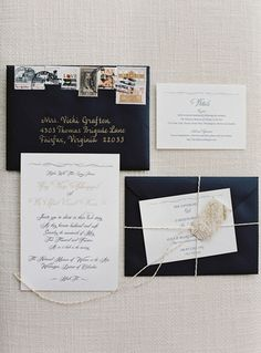 Wedding trends in 2015 - Mismatched Postage
