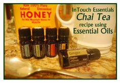 Chai Tea recipe using doTERRA Essential Oils.  Cardamom, Black Pepper, Ginger…