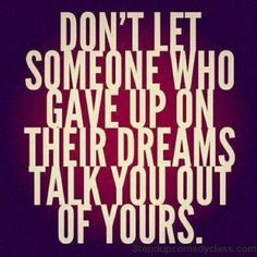Don't let anybody steal your DREAM! -Dexter Yager - #amway