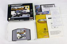 F-1 World Grand Prix for Nintendo 64, N64, PAL, 1998, Boxed, Racing / Driving
