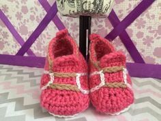 A personal favorite from my Etsy shop https://www.etsy.com/listing/222618580/baby-sneakers