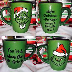 My Grinch Coffee Mugs