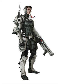 Army  girl. L.L.