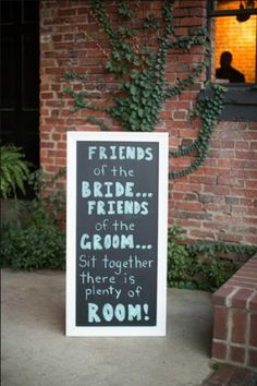 Seating chart...worst part of planning a wedding...just keep this in mind ; ) #bridetobe #wedding