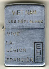 The Vietnam War Zippo - French Foreign Legion