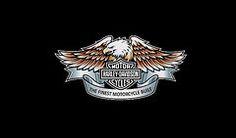 Harley Davidson Framed Prints - Harley Davidson Eagle Phone Case Framed Print by Mark Rogan