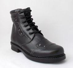 Ghete M280, imblanite, culoare neagra Combat Boots, Shoes, Fashion, Zapatos, Moda, Shoes Outlet, La Mode, Combat Boot, Shoe