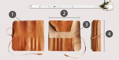 Oilnume leather pens roll