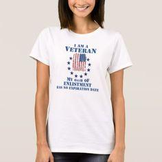 #I Am A Veteran Veterans Day T-Shirt - #VeteransDay Veterans Day #usa #american #flag #patriotic #4thofjuly #memorialday #veterans #patriot #independenceday #americanpride #starsandstripes