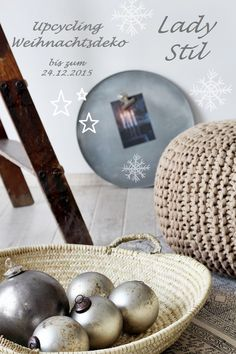 Ideensammlung Upcycling Weihnachtsdeko aus alt mach neu
