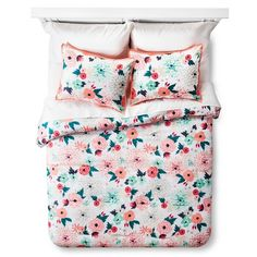 Multi Floral Printed Comforter Set - Multicolor - Xhilaration&153;