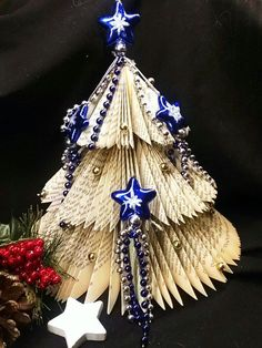 DIYcreation-Weihnachtsbaum gefalten 10