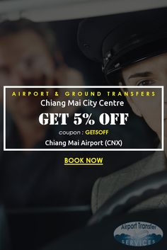 Transfers from Chiang Mai Airport (CNX) to Chiang Mai city hotel #ChiangMaicityhotel #ChiangMaicityhoteltransfers #ChiangMaiAirport