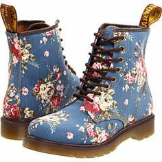Dr. Martens Castel 8-Eye Boot W at Zappos.com