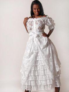 Robe femme créole, antillaise Caresse - Dodyshop