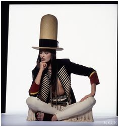 Irving Penn, Vogue, January 1, 1992 Linda Evangelista