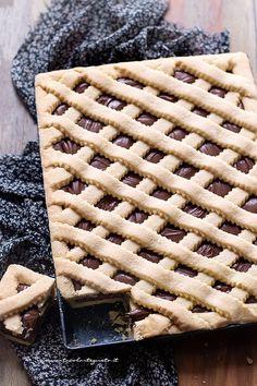 Crostata alla nutella morbida e cremosa - Ricetta Crostata alla nutella