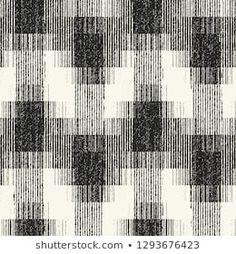Monochrome Degrade Effect Block Textured Graphic Motif. Weaving Patterns, Textile Patterns, Textiles, Tribal Pattern Art, Black And White Wallpaper, Seamless Textures, Doodle Patterns, Monochrom, Grafik Design