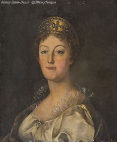 Portrait de Marie Antoinette d'Autriche, datant de 1819 par Louis-Marie SICARDI (1743-1825).
