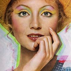 Ingrid Boulting for Yardley, 1972.