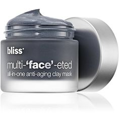 2015 Coastal Living Beach Beauty Awards: bliss multi-face-eted All-In-One Anti-Aging Clay Mask | $50