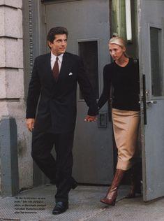 John and Carolyn Bessette Kennedy