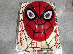 Spiderman Themed Cake by Wendy L.