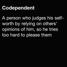 Psychology: Defining codependency