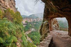 Monasterio de Sant Miquel del Fai by neobit. Please Like http://fb.me/go4photos and Follow @go4fotos Thank You. :-)