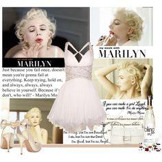 """Marilyn."" by taritelemnar on Polyvore"