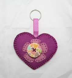Heart Felt Keyring or Bag Charm £2.50