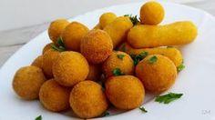 Rychlé domácí krokety Desert Recipes, Christmas Cookies, Ham, Sweet Potato, Side Dishes, Bakery, Mango, Deserts, Food And Drink