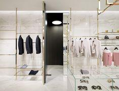 High End Retail Clothing Shop Display Interior Design Layout Furniture-ZD947-HUAXUN DISPLAY