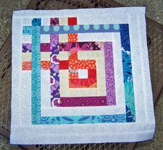 Carpenters square quilt block tutorial Use as a corner/Border of quilt for Jonathan?