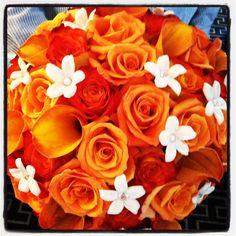 Beautiful orange bouquet