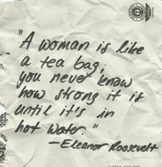 Eleanor Rosevelt Quote via Cookies and Cardigans