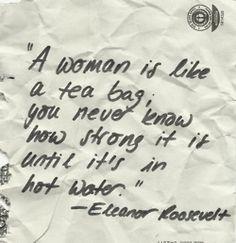 Eleanor Rosevelt Quote via Cookies and Cardigans