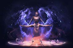 The summoning of the Dancing Zodiac by AquaSixio on @DeviantArt