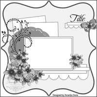 single page, 1 photo scrapbook sketch / layout Practical Scrappers: 1 Sketch, 4 ways by Julie Wedding Scrapbook Pages, Scrapbook Paper Crafts, Scrapbook Albums, Scrapbook Cards, Scrapbook Photos, Scrapbook Layout Sketches, Scrapbook Templates, Card Sketches, Scrapbooking Layouts