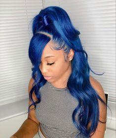 Baddie Hairstyles, Black Girls Hairstyles, Weave Hairstyles, Afro, Wig Styles, Curly Hair Styles, Aesthetic Hair, Hair Laid, Love Hair