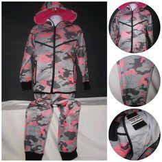 Enfants Armée Imprimé Camouflage En Polaire à Capuche Combinaison Tout en un Youths