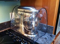 Kitchenaid Mixer Cover Clear - Why hide my beautiful mixer while it's in storage?