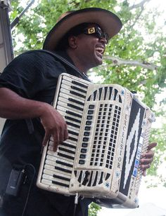 Nathan Williams & the Zydeco Cha Chas by New Orleans Jazz & Heritage Foundation, via Flickr