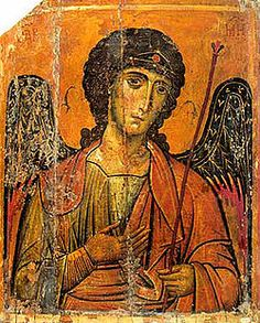 """Michael-- (""""who is like God?"""") is an archangel in Judaism, Christianity, and Islam. Roman Catholics, the Eastern Orthodox, Anglicans, and Lutherans refer to him as """"Saint Michael the Archangel"""" and also as """"Saint Michael"""". Orthodox Christians refer to him as the """"Taxiarch Archangel Michael"""" or simply """"Archangel Michael""""."""