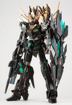 GUNDAM GUY: MG 1/100 Unicorn Gundam 02 Banshee Norn - Painted Build