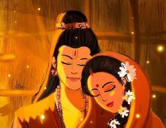 It is in the life of Lord Rama that we see the divinely perfect role-models for each type of relationship. Sri Rama was a king endowed with… Shiva Parvati Images, Hanuman Images, Radha Krishna Images, Lord Krishna Images, Krishna Pictures, Krishna Art, Radhe Krishna, Hanuman Chalisa, Ram Sita Image