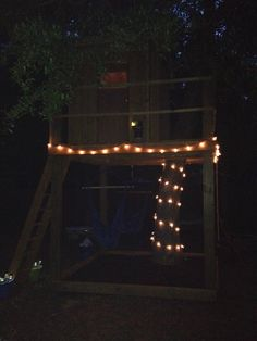 Treehouse at night! Treehouse Ideas, Storyboard, Night, Home Decor, Interior Design, Home Interior Design, Home Decoration, Decoration Home, Interior Decorating